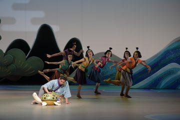 「竜宮」舞台写真 Stage Photo by Takashi Shikama